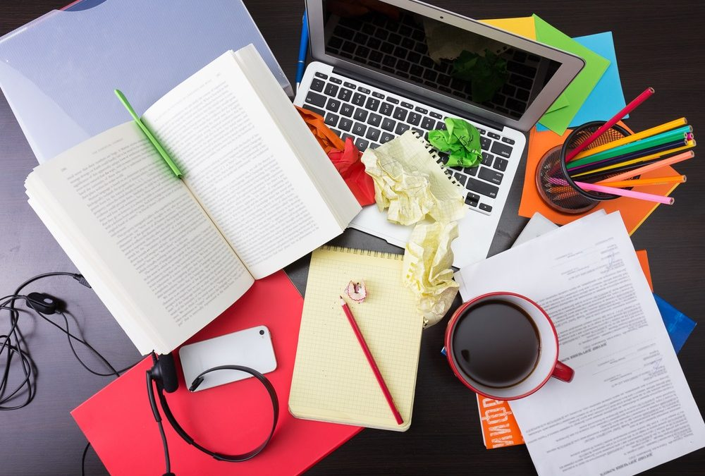 Clear Your Desk Be More Productive