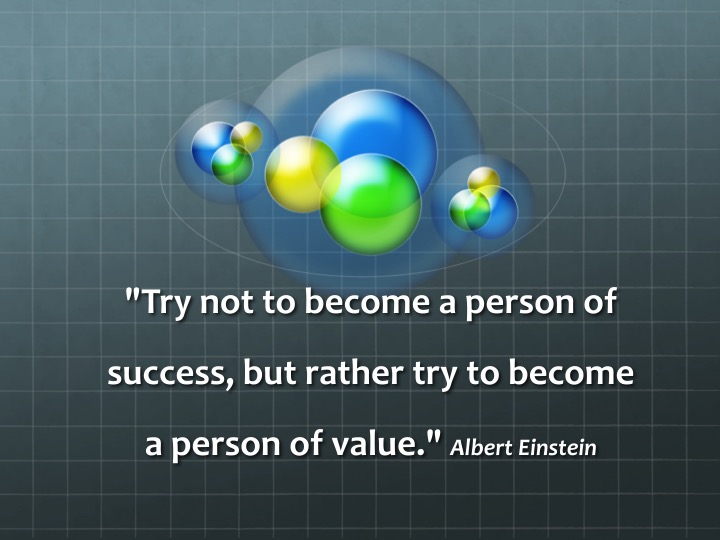 Success - Einstein Quote